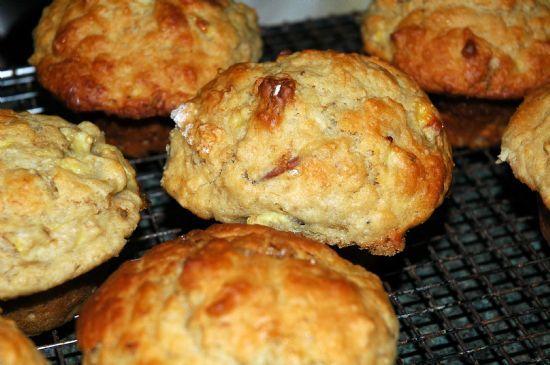 Banana Nut Oat Bran Muffins
