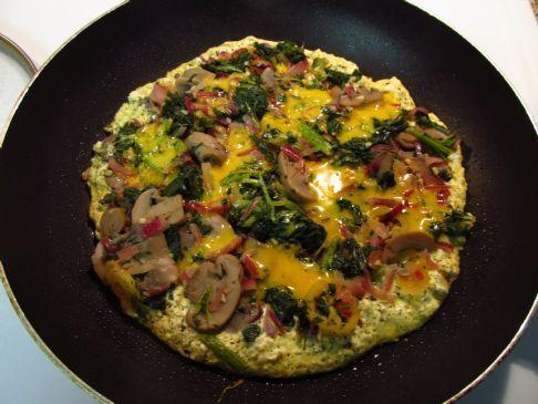 Egg, Tofu, and Kale Frittata