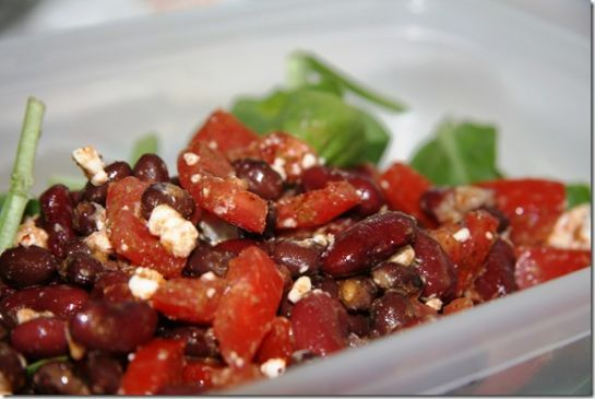 Two Minute Mexican Bean Salad