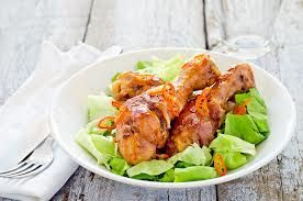 Barbecue Chicken drums