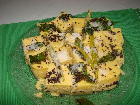 Dhokla (Indian- Gujarati dish)