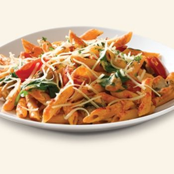 Chicken Broccoli Creamy Tomato Penne