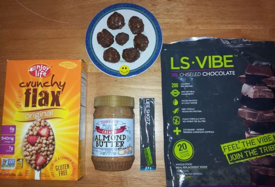 Yummy ENERGY Protein Balls GF DF CF Peanut Free w/Greens, Omega, Fiber & Vitamins Kid-Tested