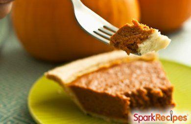 Kahlua Pumpkin Pie