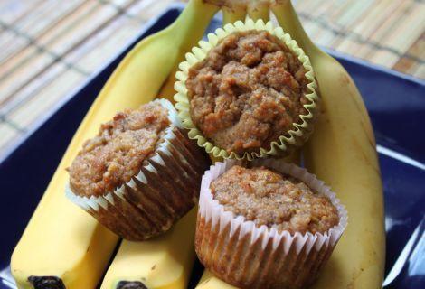 Grain Free Banana Muffins with Chocolate Chips (Mini Sized)