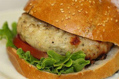 Ranch Turkey Burgers
