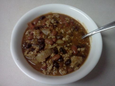 Turkey Chili- Jamie Eason's Recipe