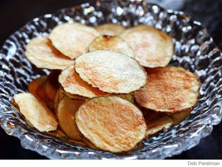 6 min Fat free Microwavable potato Chips