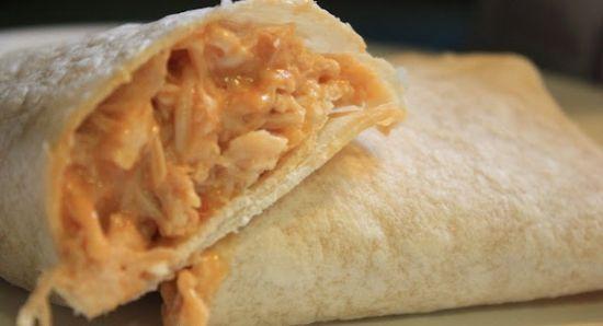 Salsa Chicken Wraps