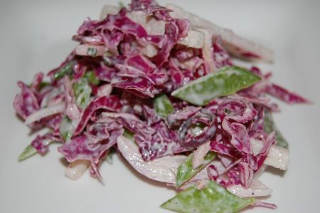 Light and Creamy Coleslaw