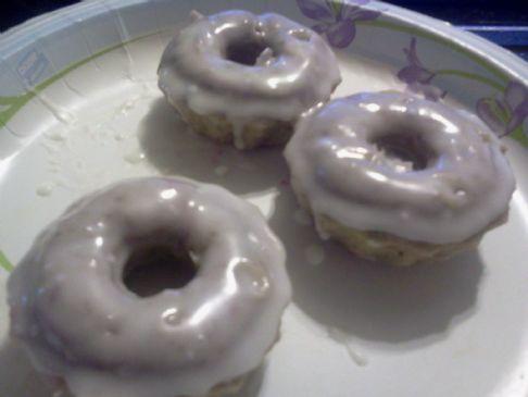 Cake Batter doughnots