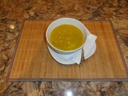 Red Lentil Soup - Indian Flavored