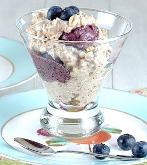 Blueberry Banana Oatmeal Sundaes
