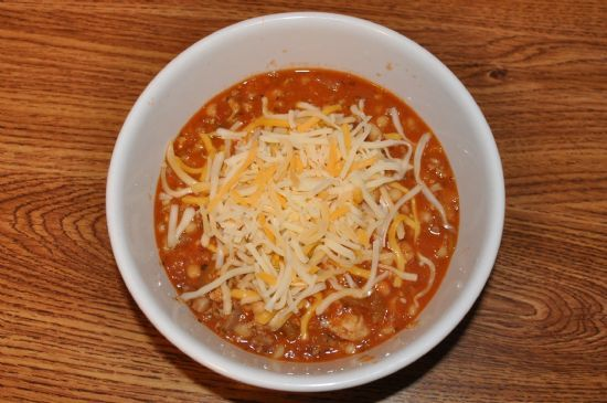 Lauren's Beef and Turkey Chili