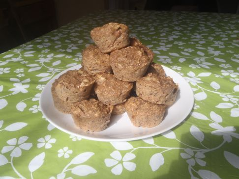 Excellent High Fibre Fruit and Bran Muffins