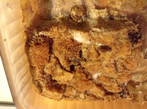 Bread Pudding, Whole Wheat, Lowfat, Lo Cal!