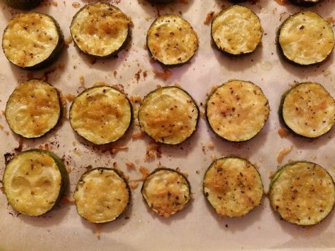 Crispy Baked Zucchini Rounds