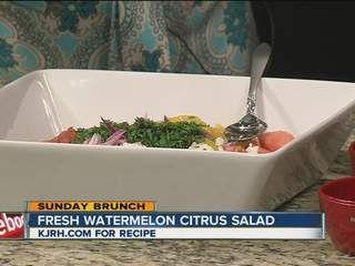Fresh Watermelon Citrus Salad
