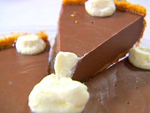 Double Chocolate Pudding Pie **Low Fat