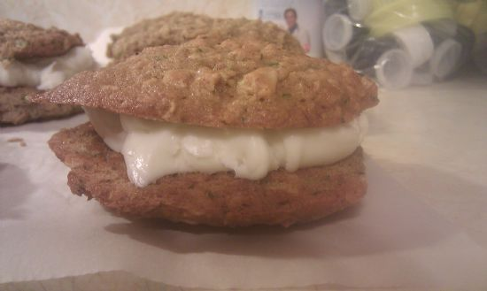 Zucchini nut bread whoopie pies