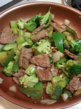 Beef & Brocolli Stir Fry