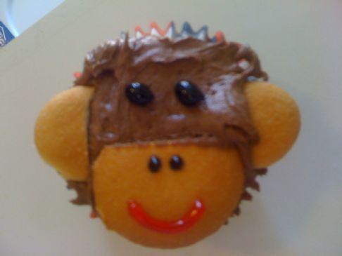 Diet Soda & Shaekology Monkey Cupcakes