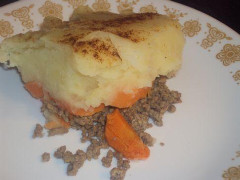 Healthy Shepherd's Pie (Beef - no dairy)