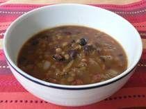 Lentil Soup (Low fat Comfort)