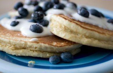 Banana Flax Pancake (Gluten-Free, Grain-Free, high protein, low carb)