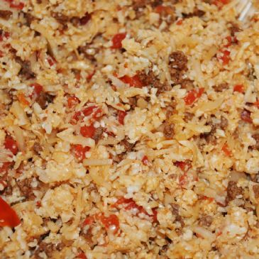 Low Carb Mexican Style CauliRice