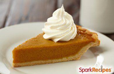 Apple Butter Pumpkin Pie