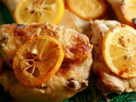 Chicken Under a Brick with Lemon