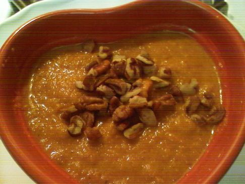 Raw Sweet Potato Souffle'