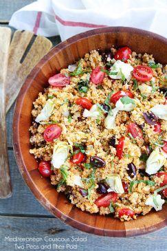 Chilled Mediterranean Couscous Salad
