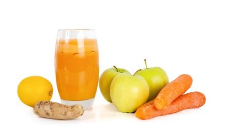 WildfireWench's Apple Carrot Cucumber Ginger Juice