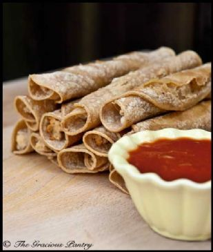 Homemade Taquitos from Gracious Pantry