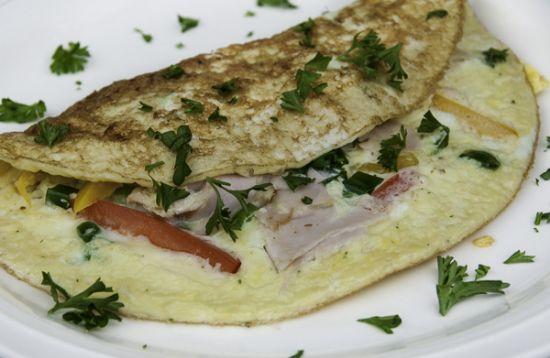 Simple & Basic Egg White Omelette
