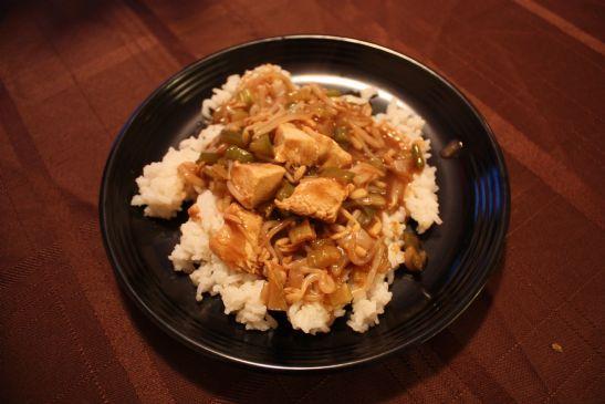 Grandma's Chicken Chop Suey