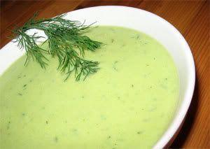 Raw Creamy Zucchini Soup