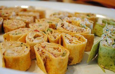 Spicy Chicken Tortilla Roll Ups