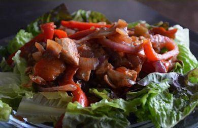 Easy Paleo Chicken Fajitas
