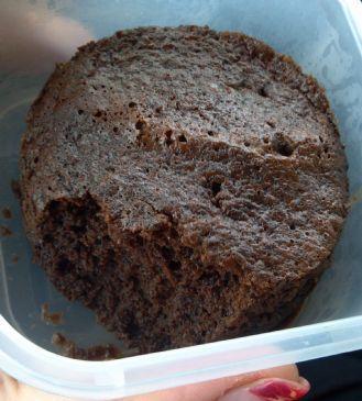 Flourless Chocolate Mug Cake (sugar-free)