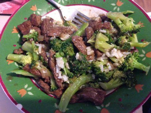 Beef (Elk) & Broccoli