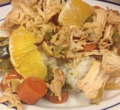Crockpot Orange Chicken