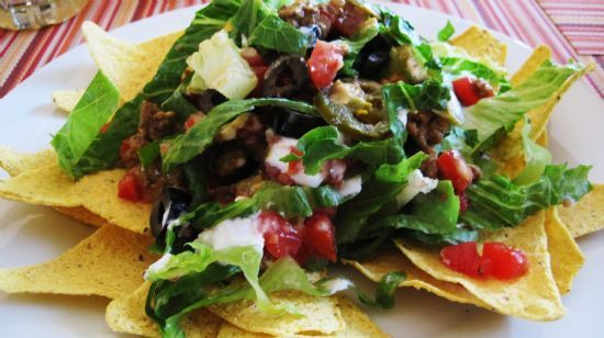 Taco Salad ala Trader Joes Ingredients