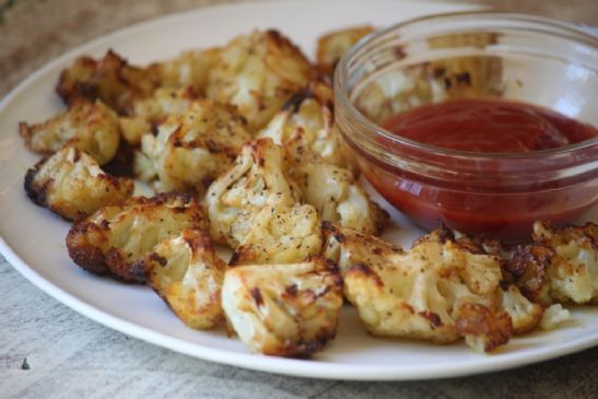 Baked Cauliflower Poppers