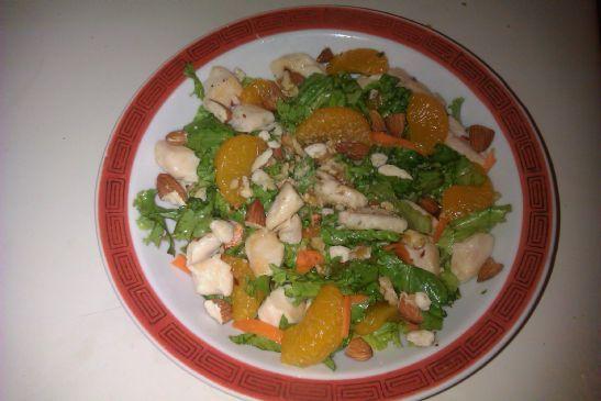 Grilled Chicken and Mandarin Orange Salad