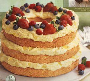 Tropical Angel Crush Cake