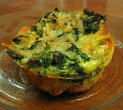 Breakfast Spinach Muffins