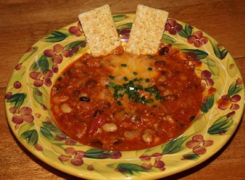 Turkey Italian Sausage and Chorizo Chili